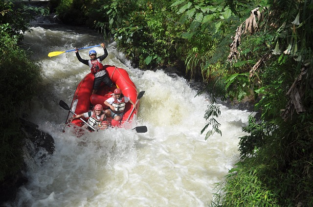 River Rafting, Indonesien