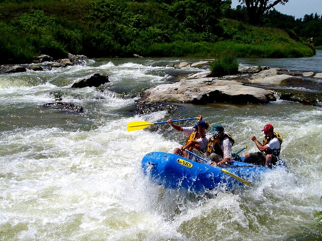 Wildwasser Rafting, Indonesien