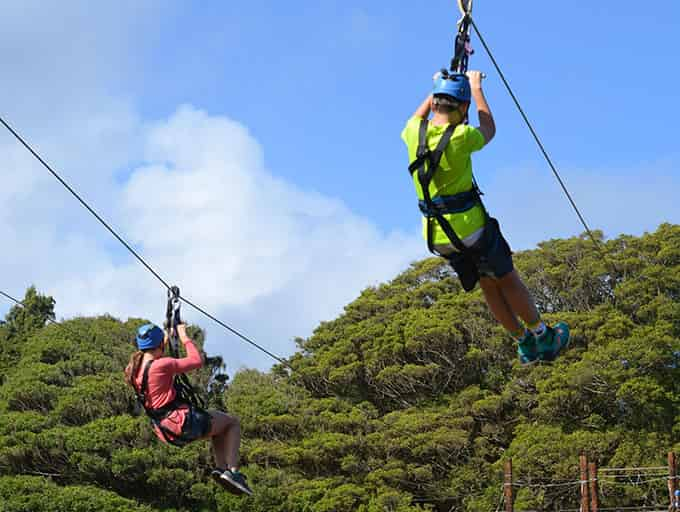 Eagle Track Zipline in Chiang Mai, Thailand