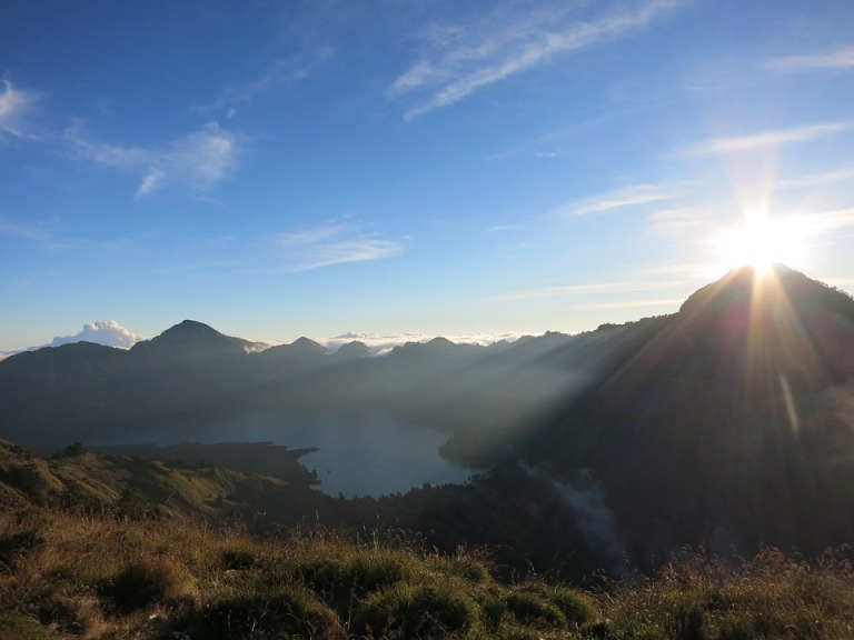 Mt. Rinajani, Luxus-Expedition, Indonesien